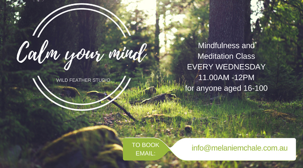 Weekly mindfulness and meditation class